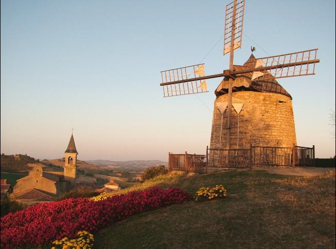 Moulin à vent de La Salette