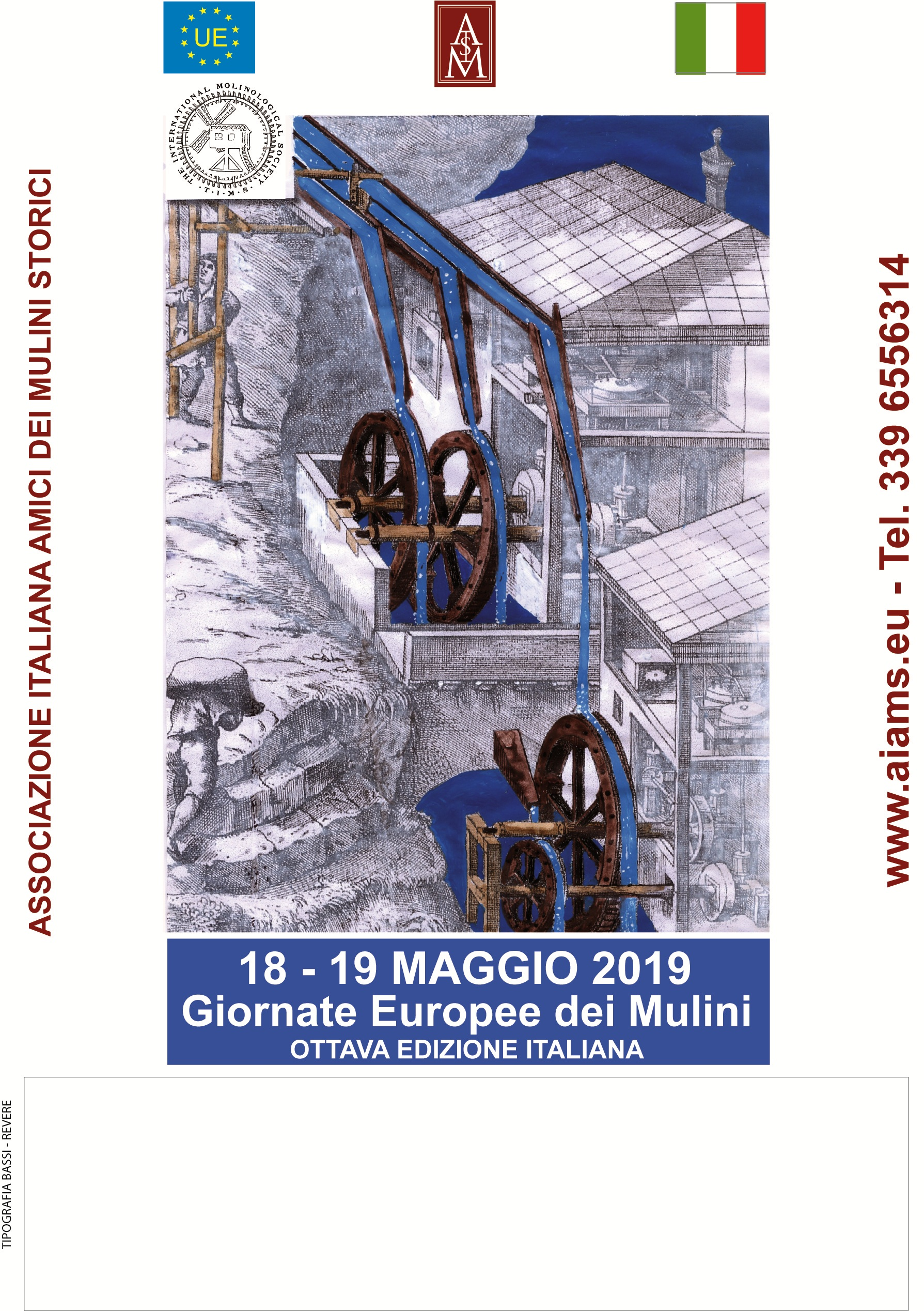 Journées des Moulins en Italie