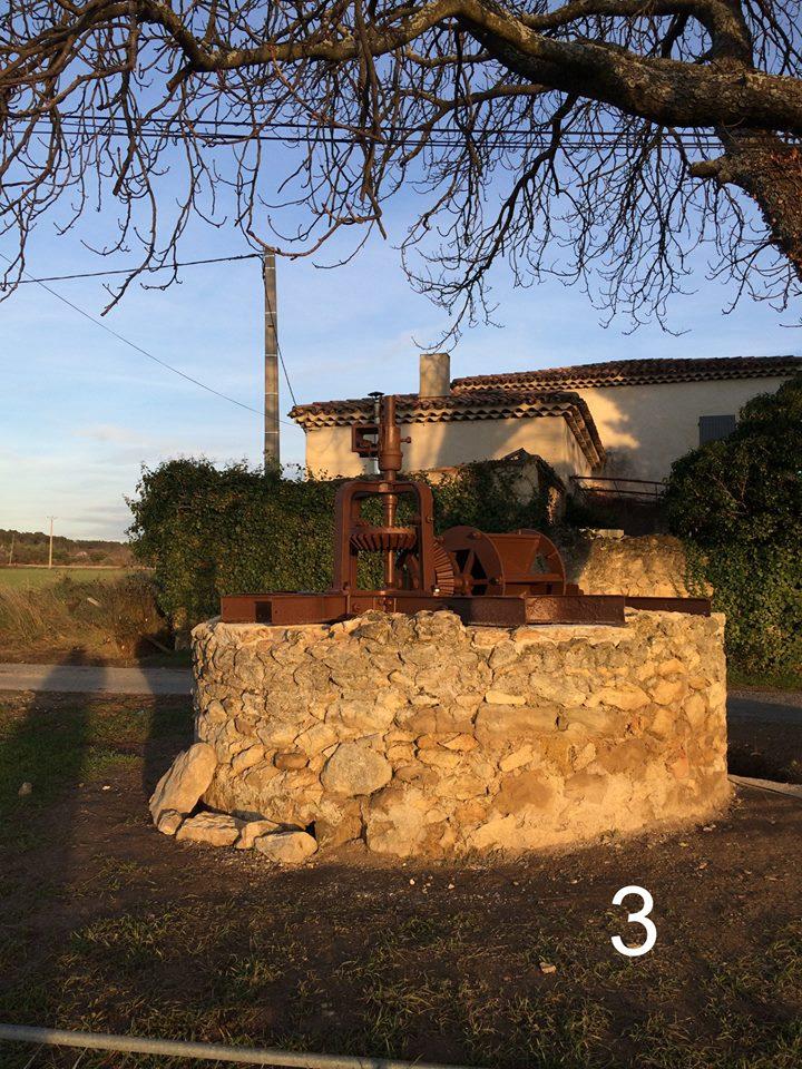 Moulin à vent de Bertoire et Noria de Caméjean à Lambesc