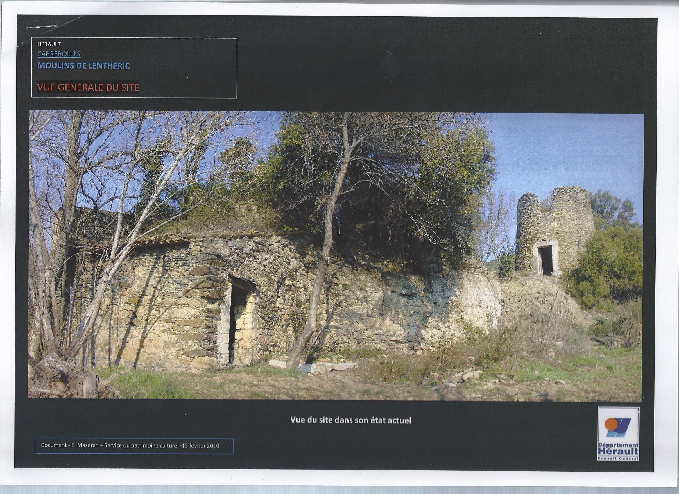 Moulins de Lenthéric