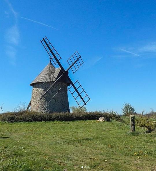 Moulin à vent de Lagarde (Celoux)